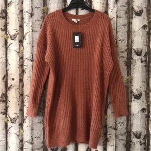 That warm fuzzy feeling tunic dress
